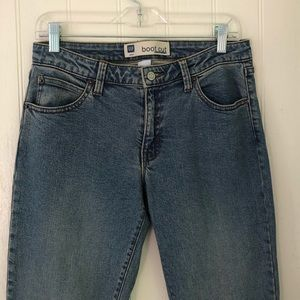 GAP• Vintage Boot Cut Stretch Jeans. Size 6 Long.